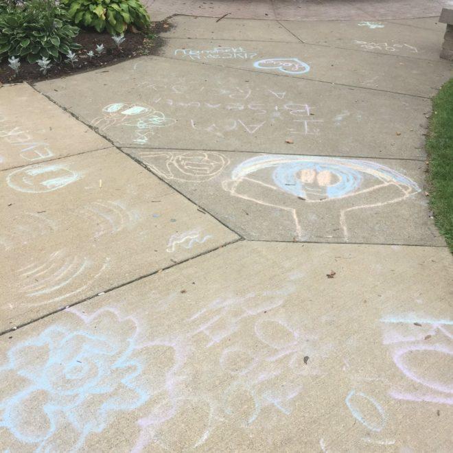 kidzone chalk